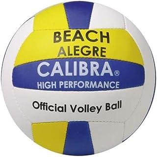 Calibra Beach-Volley Alegre Blanc/Jaune/Bleu Taille 5
