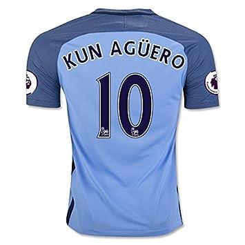 Manchester City 1617 Kun Aguero Home Fußball Jersey Größe M Amazon