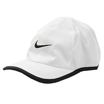 97b0b2daf82 NIKE Dri-Fit Swoosh Graphic Baseball Adjustable Cap (White Black