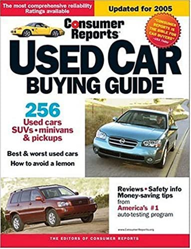 used car buying guide 2005 consumer reports used car buying guide rh amazon com used car guides for philadelphia used car guide consumer reports