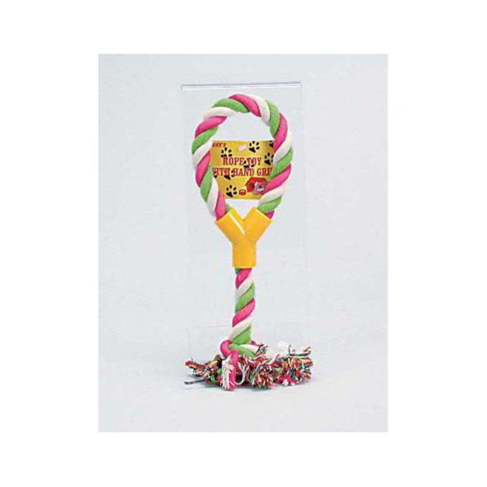 96 Rope toy with hand grip