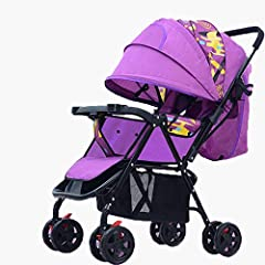 The baby carriages are specially designed for the versatile needs of modern, style-conscious families. Practical, innovative and functional, they are the perfect companion for every day life. It is folded quickly and easily with just one hand...