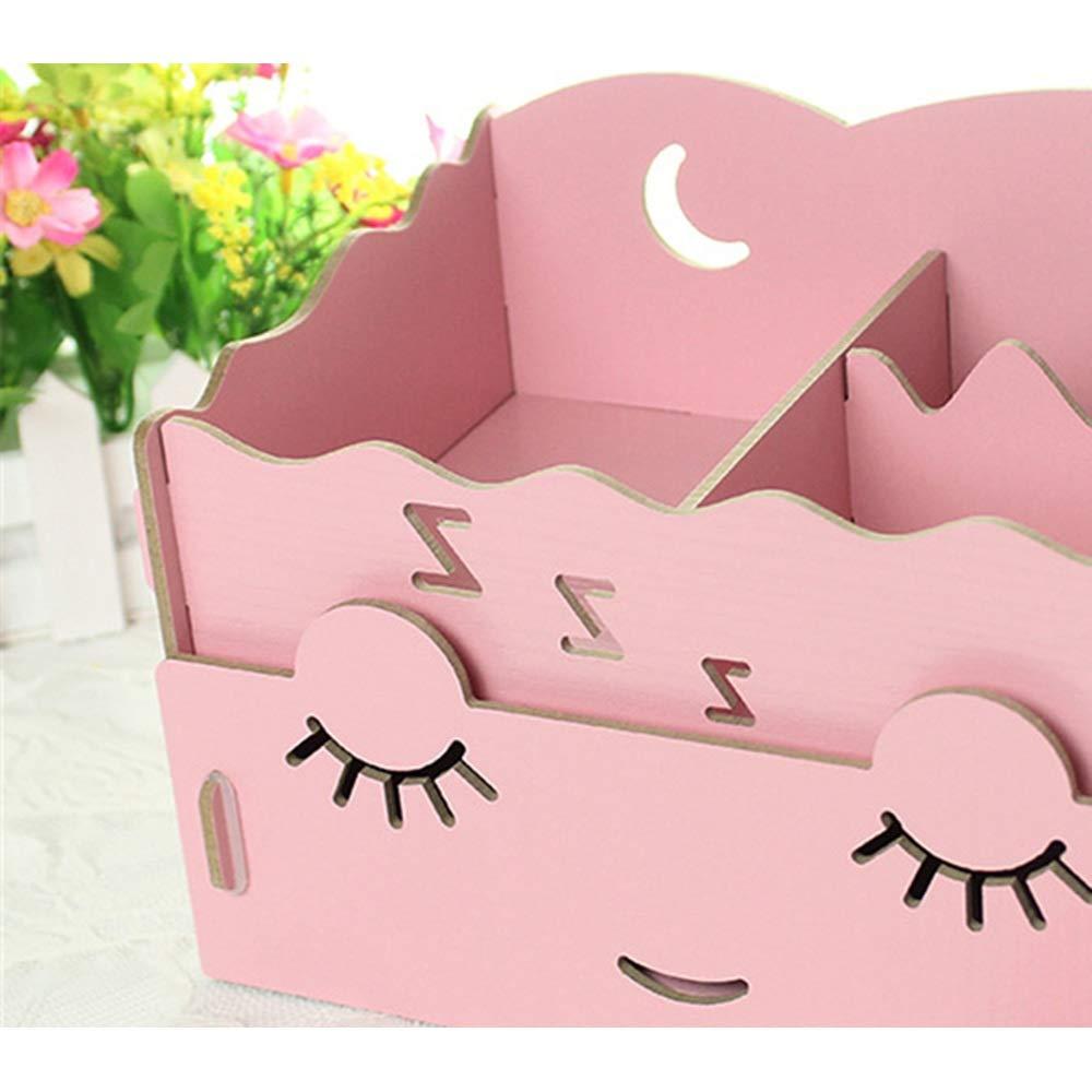 DESTDOU Hölzerne DIY kosmetische Aufbewahrungsbox-Schubladen-kreative Desktop-Aufbewahrungsbox Tragbare Tragbare Tragbare und ordentliche Aufbewahrungsbox (Farbe   Grün, größe   32.6  21.6  23.6cm) B07NHWGRZG | Charmantes Design  5acecc