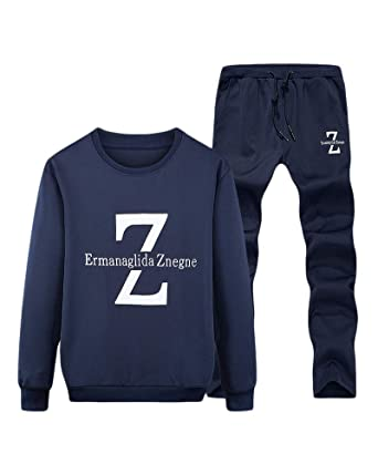 Liangzhu Herren Trainingsanzug Freizeitanzug Trainingsjacke