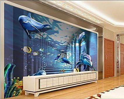 Lwcx 3d Wallpaper Custom Photo Mural Wall Sticker 3d