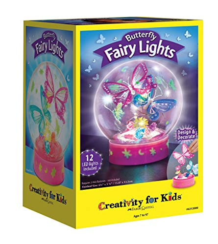 Creativity for Kids Butterfly Fairy Lights Craft Kit