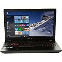 ASUS FX53VE-MS74 15.6 Gaming Laptop Computer - Black Metal; Intel Core i7-7700HQ Processor 2.80GHz; NVIDIA GeForce GTX 1050 Ti 4GB GDDR5; 16GB DDR4 RAM; 1TB HDD + 256GB M.2 SSD