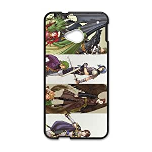 HTC One M7 Cell Phone Case Black Fire Emblem The Sacred Stones LSO7761950