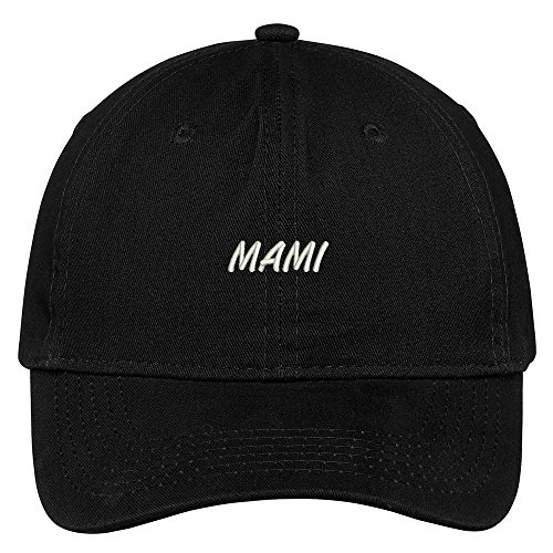 Mami Embroidered Brushed Cotton Adjustable Cap