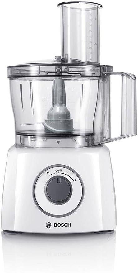 Bosch Mcm3200w Multitalent 3 Robot Da Cucina Compatto 800w Bianco Grigio 375 X 220 X 260mm Amazon It Casa E Cucina