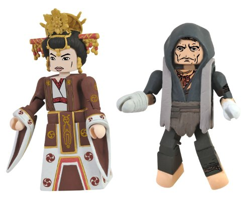 Lara Croft Tomb Raider Game Costume (Diamond Select Toys Tomb Raider Priest Malik and Sun Queen Action Figure, 2-Pack)