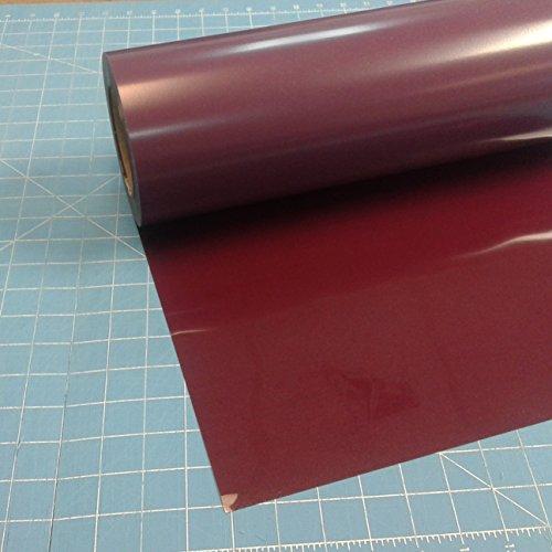[해외]사이 저 Easyweed 적갈색 열전달 비닐 롤에 15 x 3 '철/Siser Easyweed Maroon 15  x 3` Iron on Heat Transfer Vinyl Roll