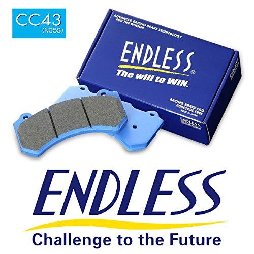 ENDLESS エンドレス APレーシング製 レーシングキャリパー用 ブレーキパッド CC43 (N35S) CP7040キャリパー用 ピストン数 6   B07739RFN2