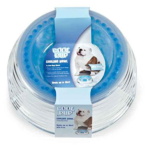 Cooling Bowls For Dogs Freezer Inserts For Cold Water on Hot Summer Days 16 oz by CP (Image #8)