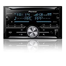 Pioneer FH-X830BHS 2-Din CD Receiver with enhanced Audio Functions, Full-featured Pioneer ARC App Compatibility, MIXTRAX, Built-in Bluetooth, HD Radio Tuner and SirusXM-Ready