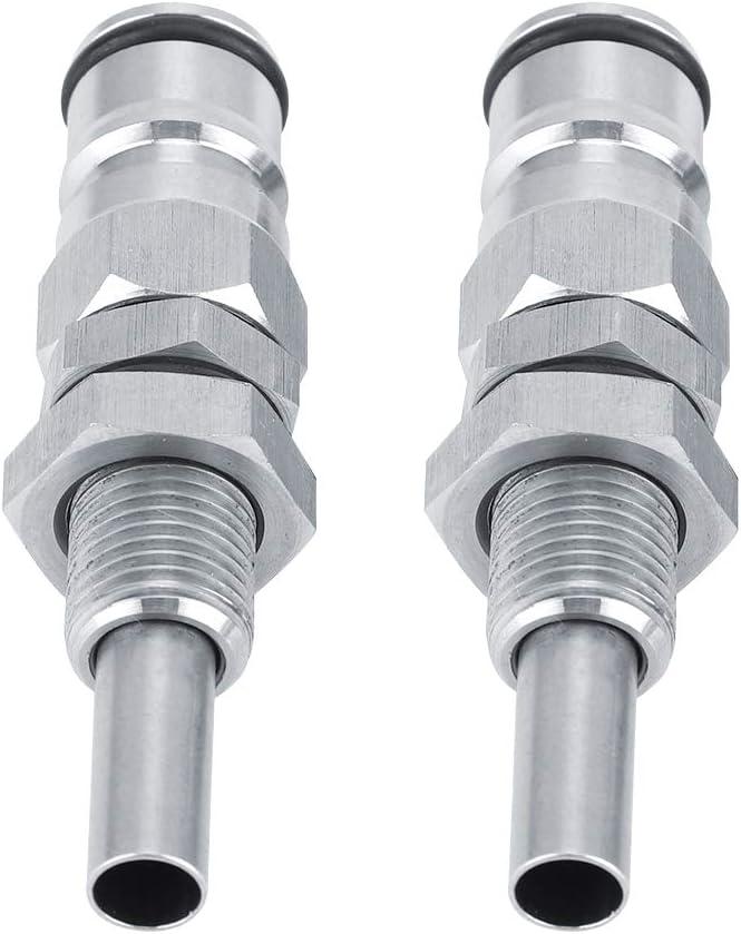 2Pcs//Set Stainless Steel Sturdy Keg Beer Ball Lock Post Connector Bar Accessories Keg Ball Lock Post