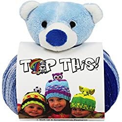 DMC Top This! Teddy Bear Yarn Kit