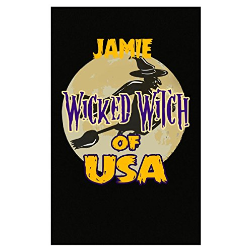 Prints Express Halloween Costume Jamie Wicked Witch of USA Great Personalized Gift - Poster]()