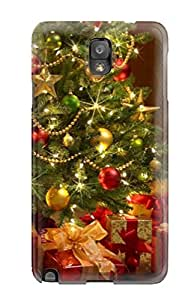 Awesome Case Cover/galaxy Note 3 Defender Case Cover(christmas Trees)