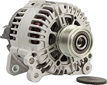 DB Electrical AVA0099 New Alternator 2.0L 2.0 Audi A3 06 07 08 09 10 11 12 13 14 2006 2007 2008 2009 2010 2011 2012 2013 2014, Audi TT 08 09 10 2008 2009, ...