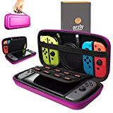 Orzly Carry Case Compatible With Nintendo Switch – PINK Protective Hard Portable Travel Carry Case Shell Pouch for Nintendo Switch Console & Accessories Review