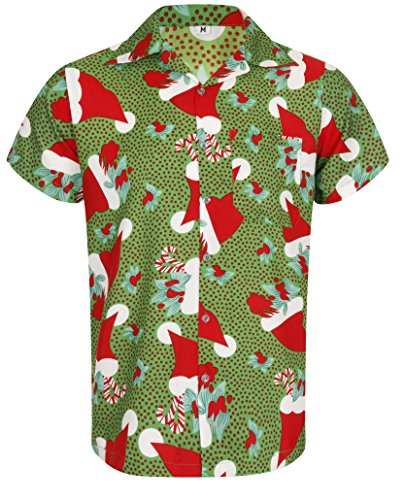 Christmas Hawaiian Shirt Australia.Christmas Hawaiian Shirt Santa Hat Xmas Mistletoe Tree Sugar Cane Novelty Casual Design Loud Aloha Hawaii Island Holiday Dinner Stag Party T Short
