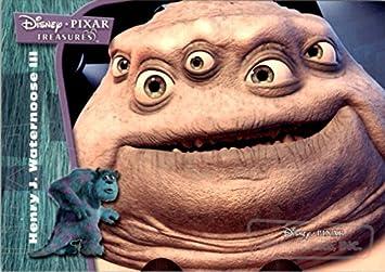 2004 disney pixar treasures dpt49 henry j waternoose iii nm mt
