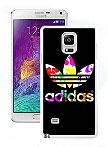 New Antiskid Designed Cover Case For Samsung Galaxy Note 4 N910A N910T N910P N910V N910R4 With Adidas 8 White Phone Case
