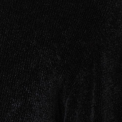 Laneus Homme MGU1225NERO Noir Viscose Maille