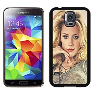 New Personalized Custom Designed For Samsung Galaxy S5 I9600 G900a G900v G900p G900t G900w Phone Case For Amber Heard Paint Phone Case Cover