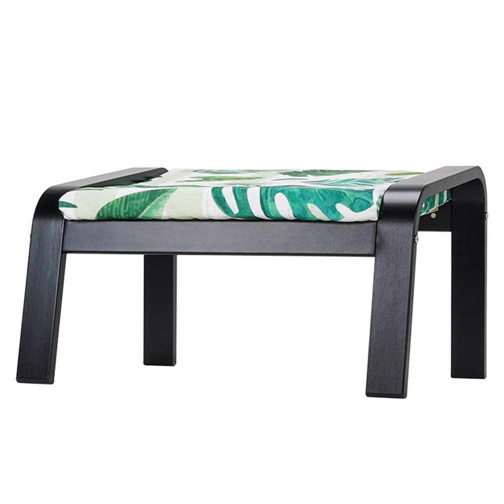 I 665mmX510X370MM AGLZWY Footstool Multipurpose Solid Wood Cloth Space Saving Fashion Creative Assembled Living Room Change shoes Bench Square Stool, Multicolor, 665mmX510X370MM (color   C, Size   665mmX510X370MM)