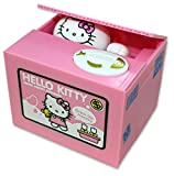 Hello Kitty Bank - Stealing Coin Money Piggy Box