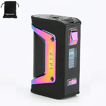 Cigarrillo electrónico GeekVape Aegis Legend 200W TC Box MOD Nuevo conjunto de chips AS Sin batería Aegis Legend MOD, No líquido, No contiene nicotina: Amazon.es: Salud y cuidado personal