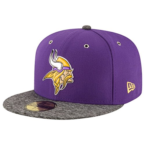 New Era Minnesota Vikings 2016 Onstage Draft 59FIFTY Fitted NFL Cap 7 1/2