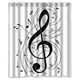 Decration colletion Decor,Music Notes Waterproof Polyester Fabric