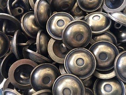 Antique Brass Shank Buttons 3 Sizes