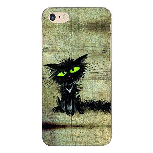 "Disagu Design Case Schutzhülle für Apple iPhone 7 Hülle Cover - Motiv ""Schwarze Katze"""