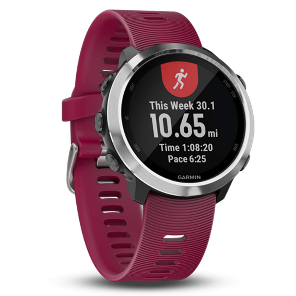 Garmin Forerunner 645 Music Bundle with Extra Band & HD Screen Protector Film (x4) | Running GPS Watch, Wrist HR, Music & Spotify, Garmin Pay (Cerise + Music, Orange) by PlayBetter (Image #4)