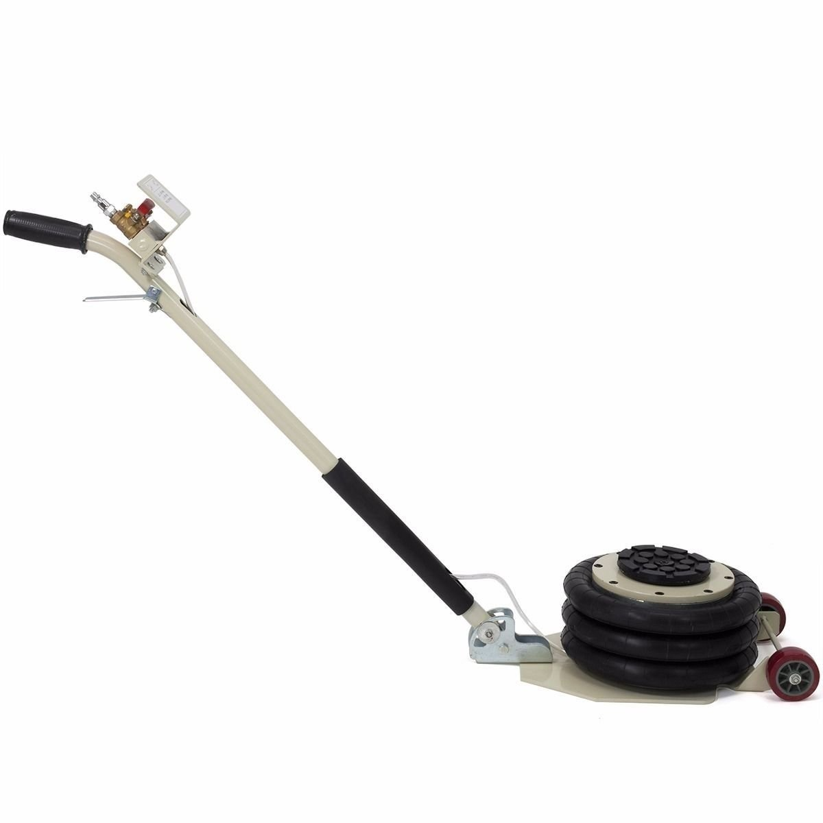 INTBUYING 6600lbs Triple Bag Air Jack Portable 3 TON Triple Bag AIR Jack Frame Alignment car Truck Shop by INTBUYING (Image #2)