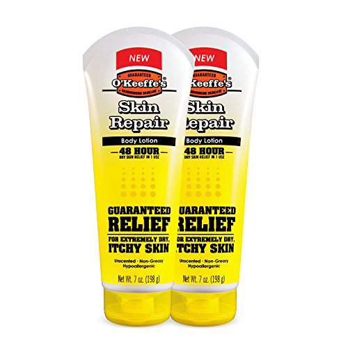 O'Keeffe's Skin Repair Body Lotion and Dry Skin Moisturizer, Tube, 7 oz, (Pack of 2)