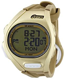 Asics ASICS DIGITAL SPORTSWATCH ELITE L, gold CQAR0208 - Reloj unisex, correa de plástico multicolor