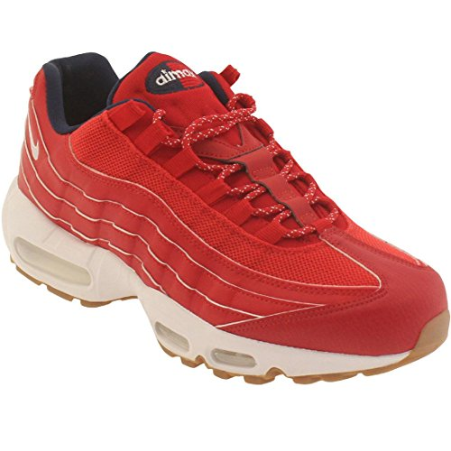 Zapatillas Nike Air Max 95 No Sew Para Hombre University Red / White-mid Navy