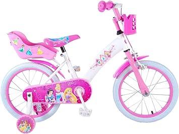 Disney Bicicleta Niña Princess 16 Pulgadas Frenos al Manillar ...