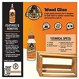Gorilla Wood Glue, 8 ounce