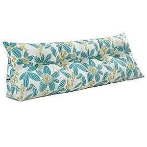 Amazon.com: Cojín de noche triángulo suave para sofá o cama ...