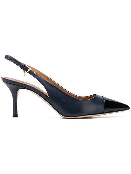 5eeb89d064c Tory Burch Women s 53009679 Blue Leather Heels  Amazon.co.uk  Shoes ...
