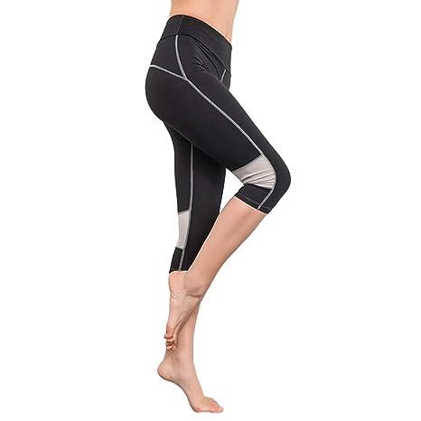 Amazon.com: CUSHY Women Elasticity Exercise Running Yoga ...