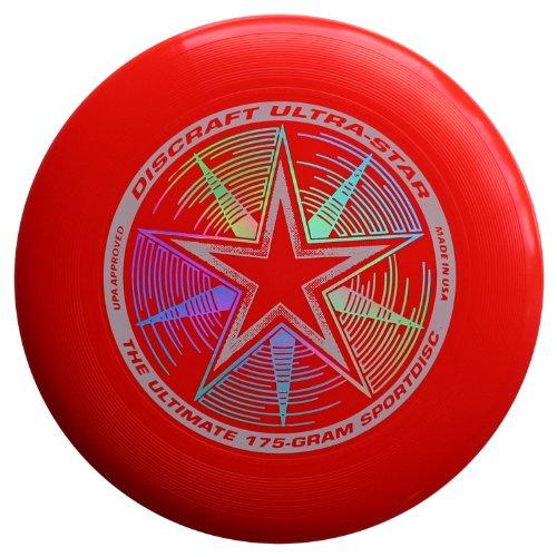 【超目玉枠】 Discraft frisbee-uvレッド Discraft B000PU3SCC Ultrastar frisbee-uvレッド B000PU3SCC, ニチクラショップ:16f0f2fd --- realcalcados.com.br