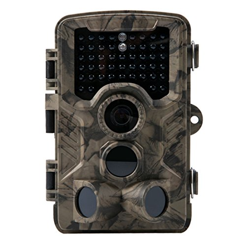 Crenova Trail Camera Hunting Camera 12MP 1080P Scouting Camera with Low Glow...