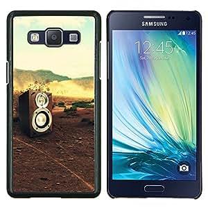 Stuss Case / Funda Carcasa protectora - Music Sound Dj Naturaleza Bass - Samsung Galaxy A5 ( A5000 ) 2014 Version